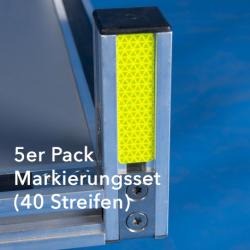 5er Pack Markierungsset (40 Streifen)