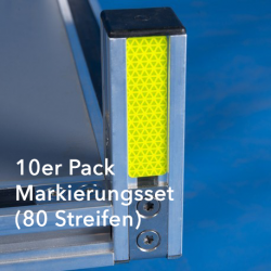10er Pack Markierungsset (80 Streifen)